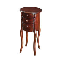 Signature 14 X 14 inch Mahogany Side Table Home Decor