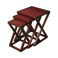 Sterling Signature Stacking Table in Mahogany 6500808