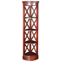 Sterling Signature Corner Shelves in Mahogany 6500811