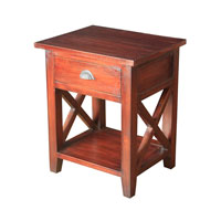 Sterling Signature Side Table in Mahogany 6500813