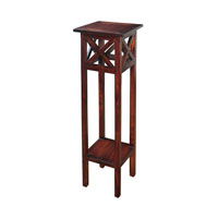 Signature 14 X 14 inch Mahogany Accent Table Home Decor
