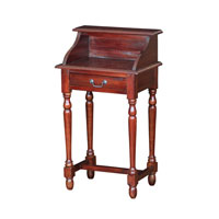 Signature 20 X 13 inch Mahogany Writing Desk Home Decor