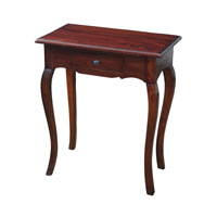 Signature 24 X 14 inch Mahogany Side Table Home Decor