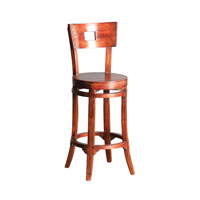 Sterling Signature Bar Stool in Mahogany 6500821