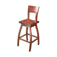 Sterling Signature Bar Stool in Mahogany 6500822
