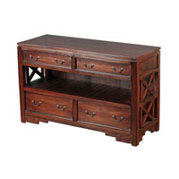 Sterling Signature Media Cabinet in Mahogany 6500825