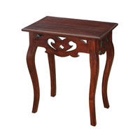 Signature 24 X 16 inch Mahogany Accent Table Home Decor