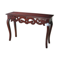Signature 47 X 16 inch Mahogany Console Home Decor