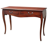 Signature 47 X 18 inch Mahogany Writing Desk Home Decor