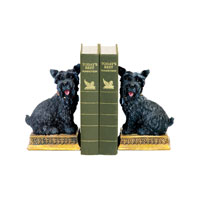 Sterling Industries Pair Baron Bookends Decorative Accessory in Black 7-7092 photo thumbnail