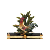 Sterling Industries Rooster Card Holder Decorative Accessory in Painted 7-8205 photo thumbnail