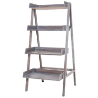 Sterling 7011-017 Signature 68 X 31 X 31 inch Heritage Grey Stain White Wash Shelf