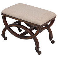 Sterling Signature Single Arc Bench In Woodland Dark Stain 7011-018