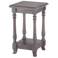 Sterling Signature Four Post Side Table In Grey Stain No.4 7011-021