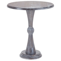 Sterling Signature Modern Hour Side Table In Heritage Grey Dark Stain 7011-025