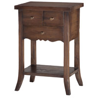 Sterling Signature 3-Drawer East Hampton Side Table 7011-027