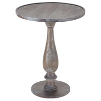 Sterling Hamptons Side Table In Waterfront Grey Stain With White Wash 7011-100