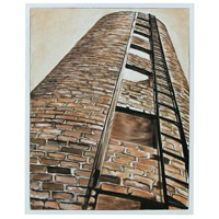 Sterling 7011-1182 Abandoned Silo 25 X 19 inch Painting