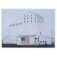American Made Gloss White Wall Decor