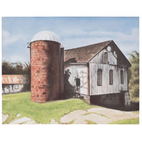 Rosegill Barn Gloss White Wall Decor