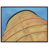 American Silo Gloss Black Wall Decor