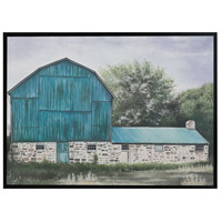 American Barn II Gloss Black Wall Decor