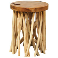 Sterling 7011-1605 Back Forty 14 inch Natural Accent Table