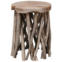Sterling 7011-1606 Back Forty 14 inch Grey Wash Accent Table