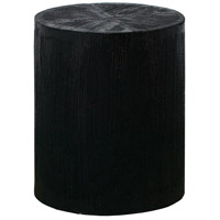 Jungleroom 18 inch Black with Natural Stool