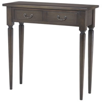Fraser 30 X 12 inch Heritage Grey Stain Console Home Decor