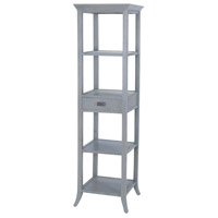 Sterling 7011-309 Tamara 72 X 20 X 20 inch Gravesend Grey Tower