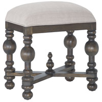 Heathcliff Heritage Grey Stain Bench Home Decor