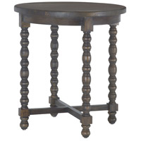 Heathcliff 24 X 24 inch Heritage Grey Stain Accent Table Home Decor