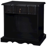 Kidder Hill 25 X 19 inch Grain De Bois Noir Accent Table Home Decor