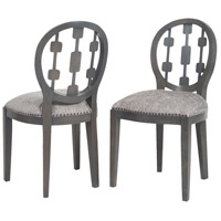 Sterling Cecile Chair in Antique Smoke, Grey 7011-627