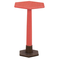 Sterling 7011-961C Launch Pad 22 X 13 inch Coral Side Table