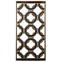 Sterling Qara Wall Panel in Bronze, Gold 7159-081