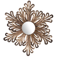 Olvera 32 X 32 inch Battery Bronze Mirror Home Decor