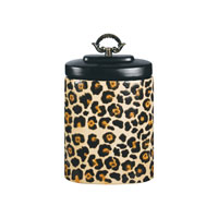 Sterling Industries Leopard Jar Decorative Accessory 72-3697 photo thumbnail