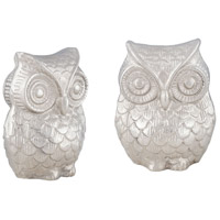 Sterling Noctua Owl in Nickel 8178-063/S2