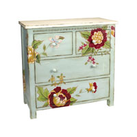 Sterling Industries Flora And Fauna Chest 84-0821