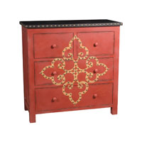 Sterling Industries Scarlett Medallion Chest 84-9167