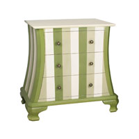 Sterling Industries Green Chevron Chest 84-9943 photo thumbnail