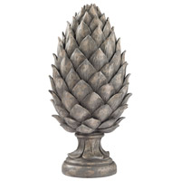 Sterling Pine Cone Decor in Aged Grey 87-002