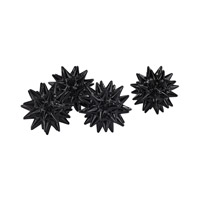 Signature Gloss Black Spiked Orb