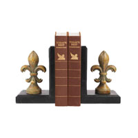 Sterling Industries Pair Regal Finial Bookends Decorative Accessory 87-0110