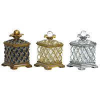 Sterling Industries Set of 3 Assyrian Boxes Decorative Accessory 87-1145