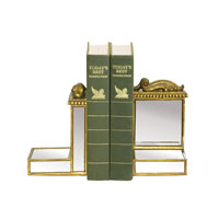 Sterling Industries Pair Mirrored Bookends Decorative Accessory 87-1170