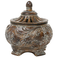 Sterling Industries Fortress Lidded Bowl Decorative Accessory 87-1354