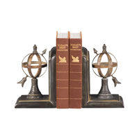 Sterling Industries Pair Arrow And Sphere Bookends Decorative Accessory 87-4496